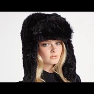 Juicy Couture fur hat